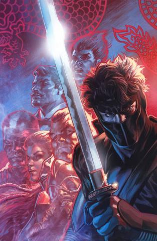 Ninjak #23 (Massafera Cover)