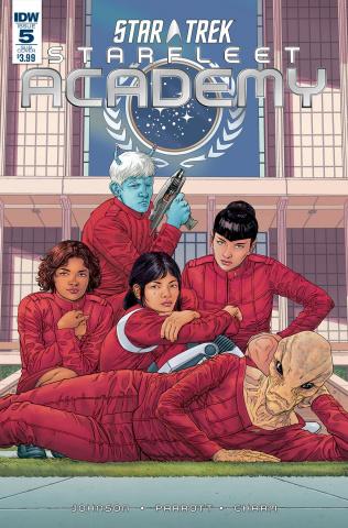 Star Trek: Starfleet Academy #5 (Subscription Cover)
