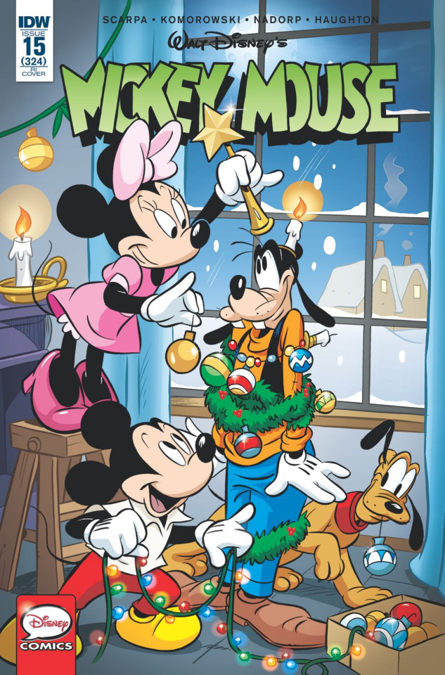 Mickey Mouse #15 (10 Copy Cover)