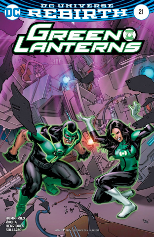 Green Lanterns #21 (Variant Cover)