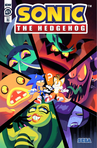 Sonic the Hedgehog #41 (10 Copy Fourdraine Cover)