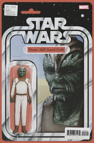 Star Wars #63 (Christopher Action Figure Cover)
