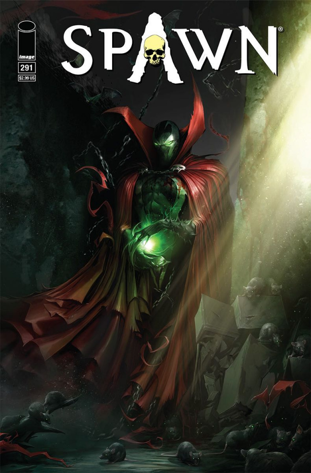 Spawn #291 (Mattina Cover)