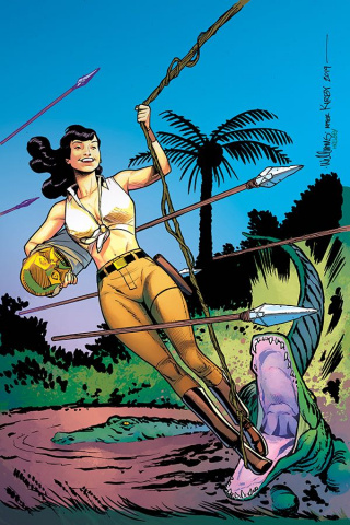 Bettie Page: Unbound #6 (20 Copy Williams Virgin Cover)