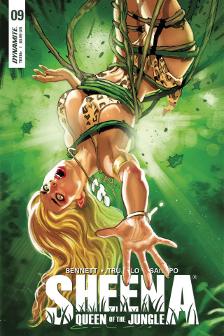 Sheena #9 (Galindo Cover)