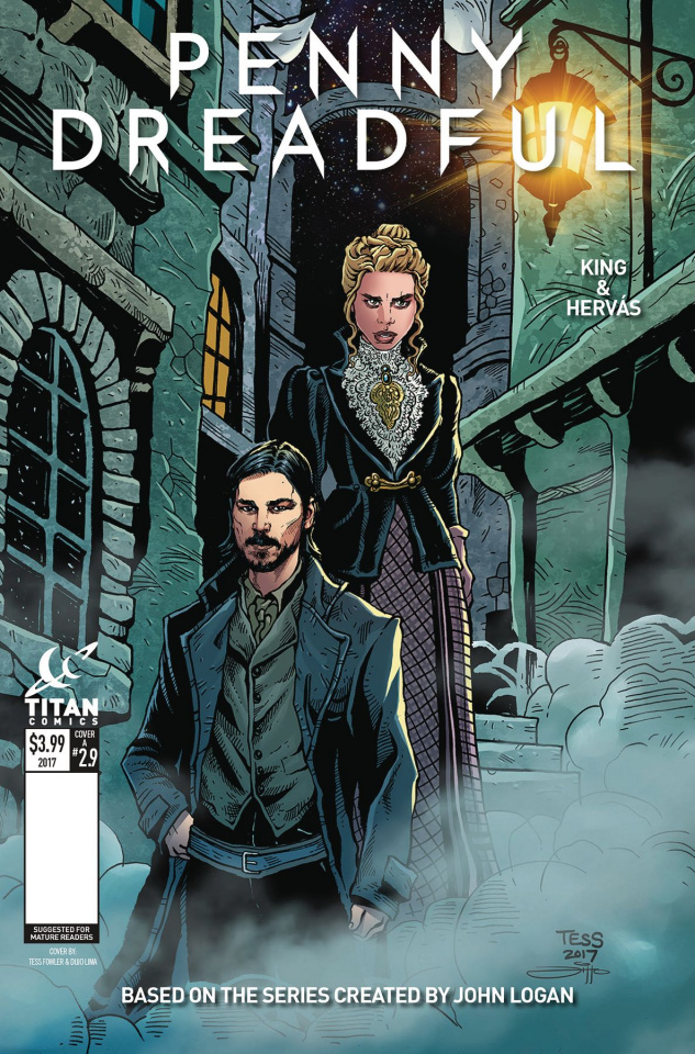 Penny Dreadful #9 (Fowler Cover)