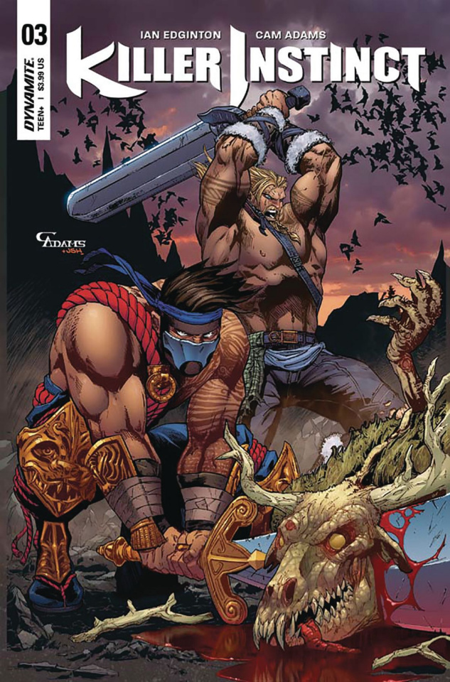 Killer Instinct #3 (Adams Subscription Cover)