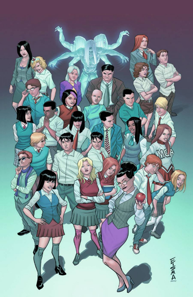Morning Glories #27 (Eisma Cover)