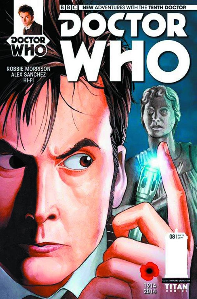 Doctor Who: New Adventures with the Tenth Doctor #8 (Laclaustra Cover)