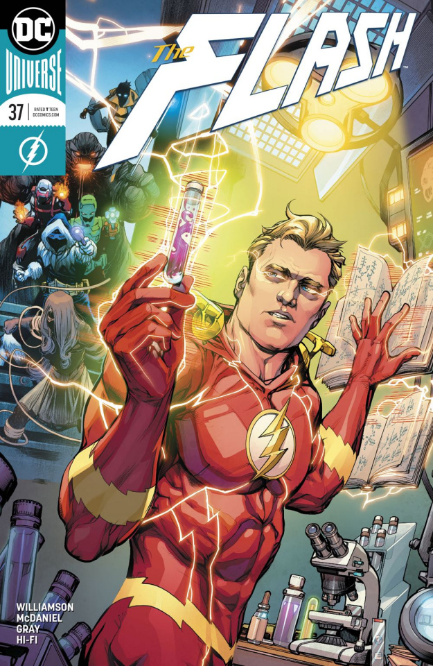 The Flash #37 (Variant Cover)