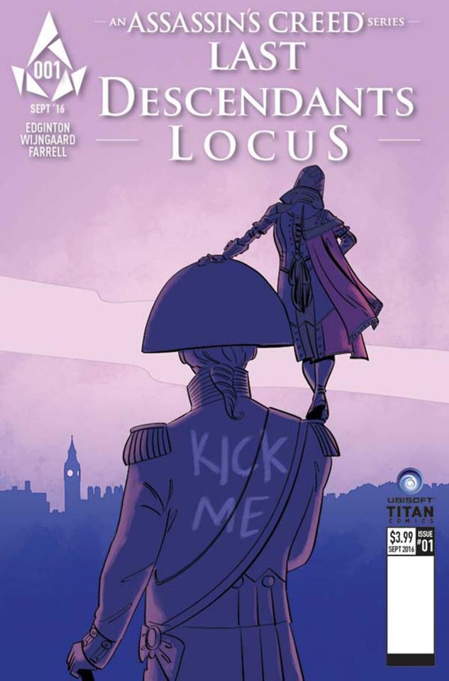 Assassin's Creed: Last Descendants - Locus #1 (Culbard Cover)