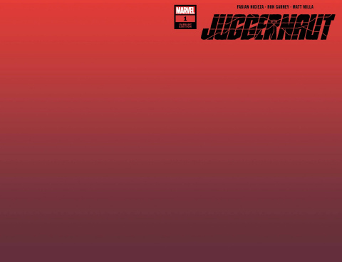 Juggernaut #1 (Brown Red Cover)