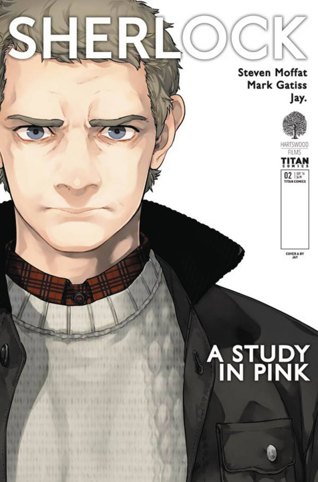 Sherlock: A Study in Pink #2 (Jay Cover)