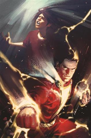 Future State: Shazam! #1 (Gerald Parel Card Stock Cover)