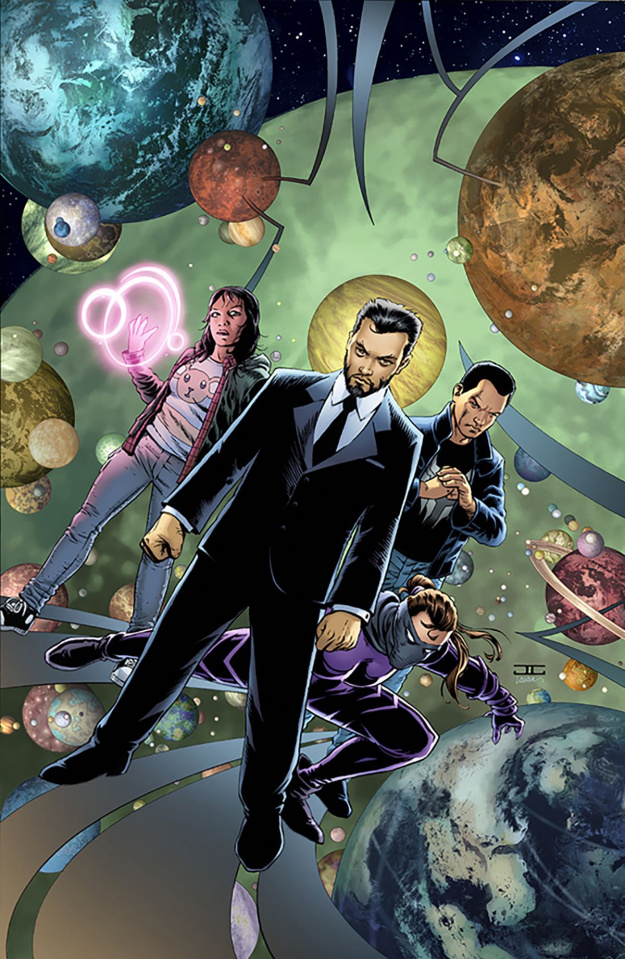 Catalyst Prime: Incidentals #1 (25 Copy Jimenez Connecting Cover)