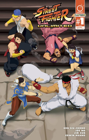 Street Fighter Unlimited #1 (Cruz Ultra Jam Cover)