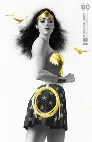 Wonder Woman: Black and Gold #1 (Joshua Middleton Cover)