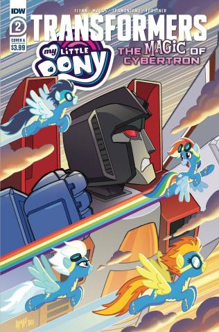 My Little Pony / The Transformers II #2 (Tony Fleecs Cover)