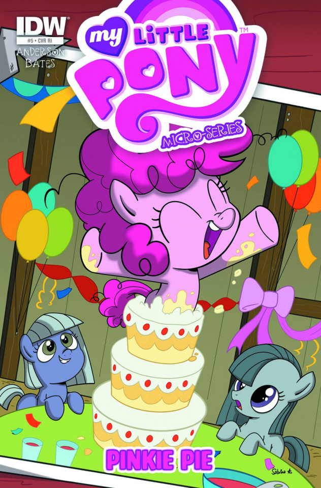 My Little Pony Micro-Series #5 (10 Copy Cover)