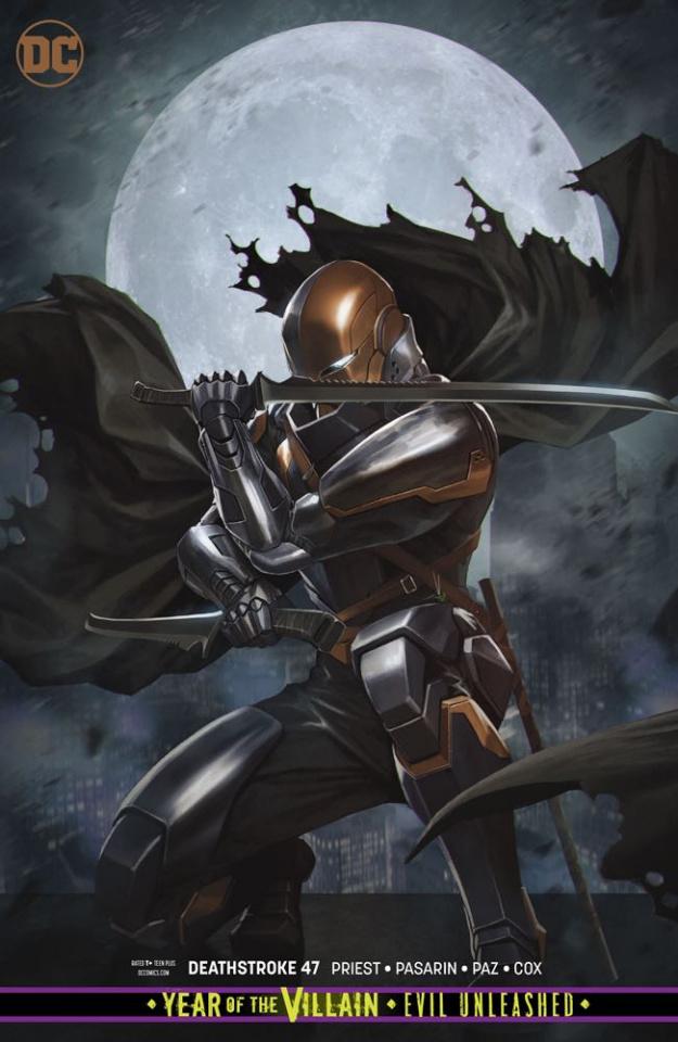 Deathstroke #47 (Year of the Villain)