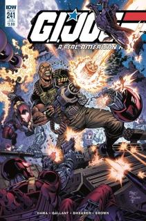 G.I. Joe: A Real American Hero #241 (Subscription Cover)