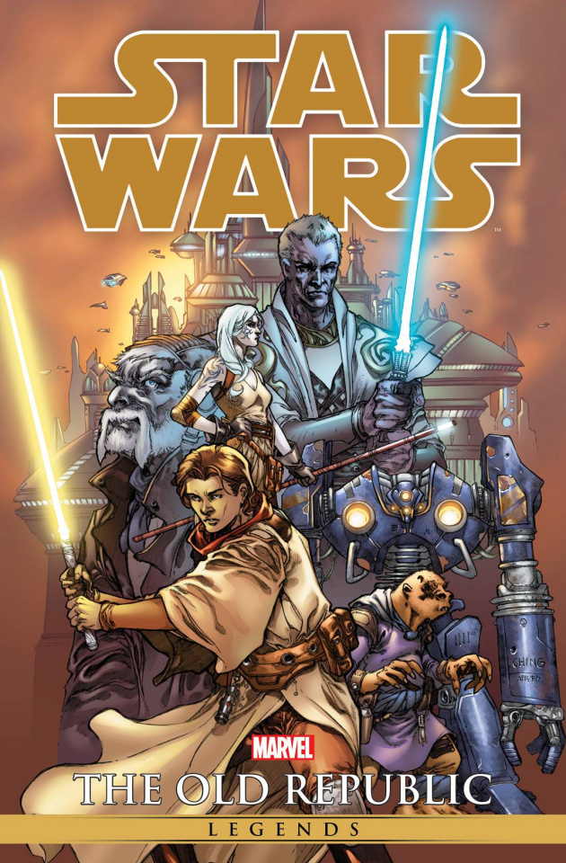 Star Wars Legends: The Old Republic Vol. 1 (Ching Omnibus Cover)