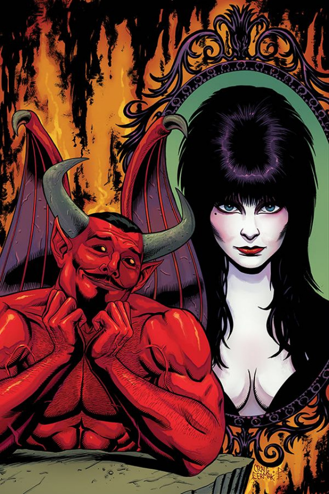 Elvira: Mistress of the Dark #7 (10 Copy Cermak Virgin Cover)