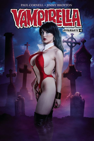 Vampirella #4 (Cosplay Cover)