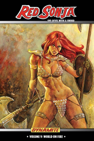 Red Sonja: The She-Devil With a Sword Vol. 5: World On Fire