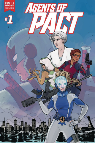 Agents of P.A.C.T. #1 (Anwar Cover)