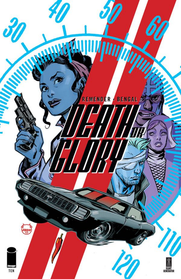 Death or Glory #10 (Johnson Cover)