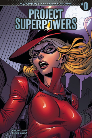 Project Superpowers #0 (10 Copy Cover)