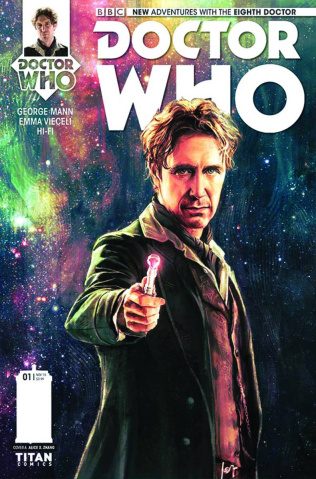 Doctor Who: New Adventures with the Eighth Doctor #1 (Zhang Cover)