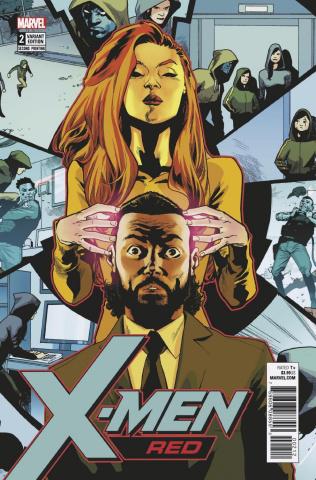 X-Men: Red #2 (Asrar 2nd Printing)