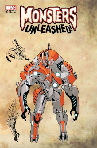 Monsters Unleashed! #4 (Larocca Monster Cover)