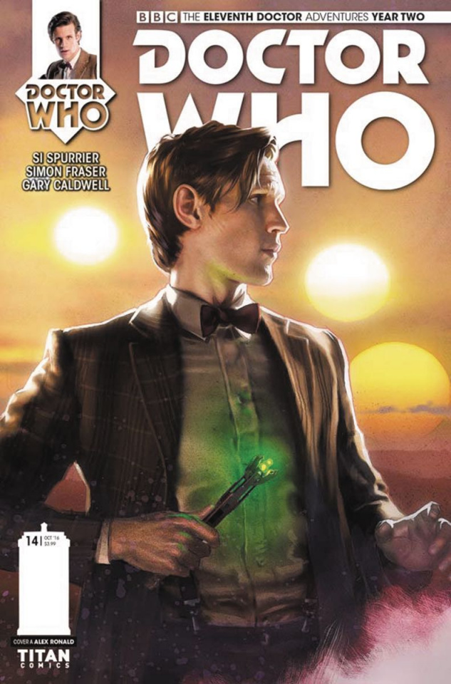 Doctor Who: New Adventures with the Eleventh Doctor, Year Two #14 (Ronald Cover)