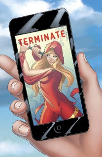 Grimm Fairy Tales: Red Agent #1 (Cafaro Cover)