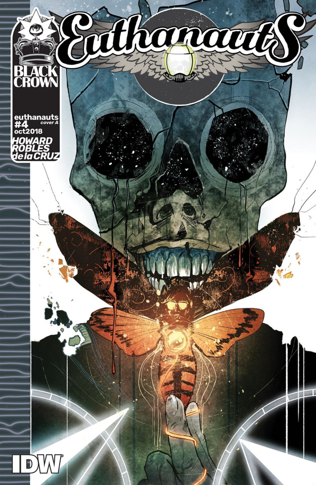Euthanauts #4 (Robles Cover)