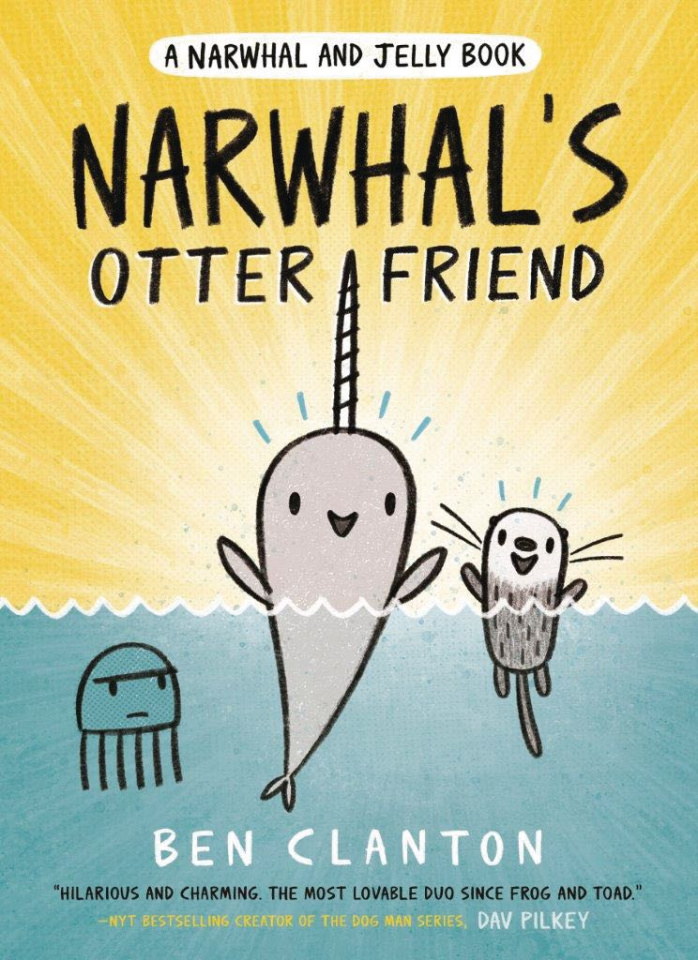 Narwhal and Jelly Vol. 4: Narwhal's Otter Friend
