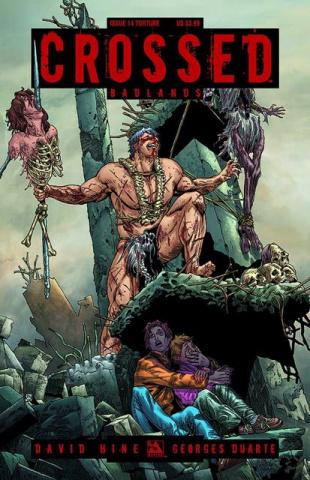 Crossed: Badlands #14 (Torture Cover)