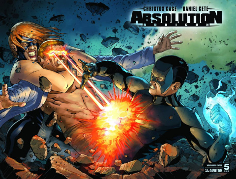 Absolution: Rubicon #5 (Wrap Cover)