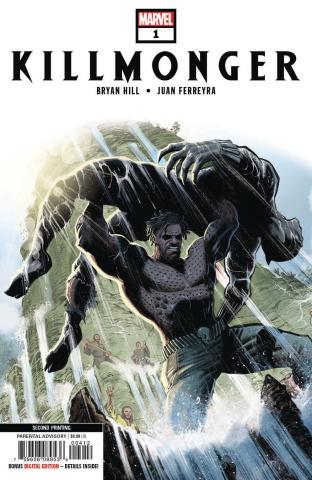 Killmonger #1 (Ferreyra 2nd Printing)