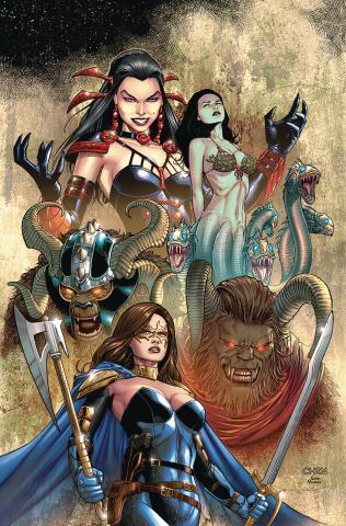 Belle: Beast Hunter #6 (Chen Cover)