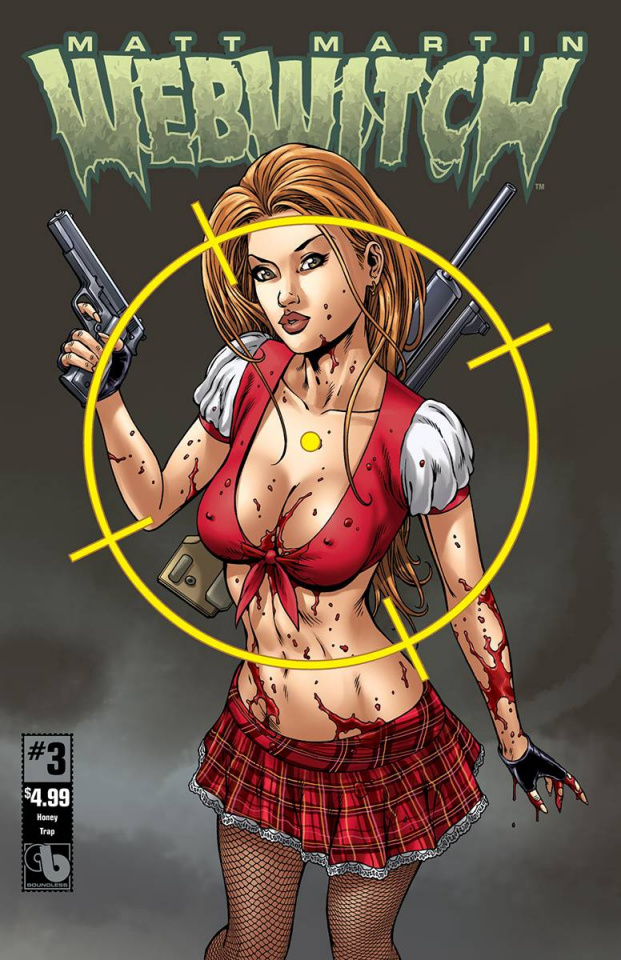 Webwitch #3 (Honey Trap Cover)