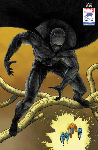 Black Panther #25 (Cabal Stormbreakers Cover)