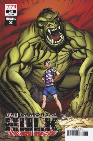 The Immortal Hulk #29 (Bradshaw Marvels X Cover)