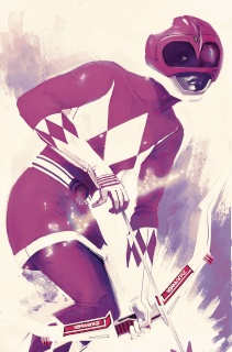 Mighty Morphin' Power Rangers: Pink #1 (50 Copy Hans Cover)