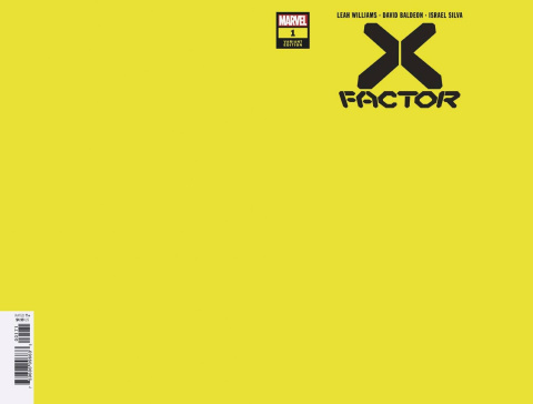 X-Factor #1 (Yellow Cover)