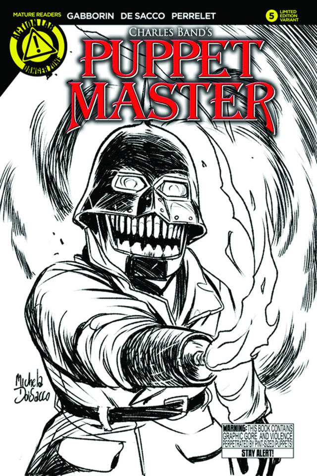 Puppet Master #5 (Torch Sketch Cover)
