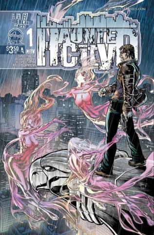 Haunted City #1 (Ryan Cover)